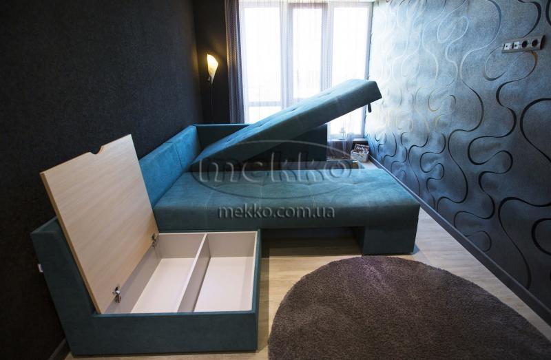 Кутовий диван з поворотним механізмом (Mercury) Меркурій ф-ка Мекко (Ортопедичний) - 3000*2150мм  Кременчук-7