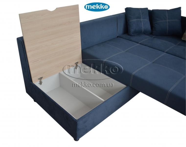 Кутовий диван з поворотним механізмом (Mercury) Меркурій ф-ка Мекко (Ортопедичний) - 3000*2150мм  Кременчук-18