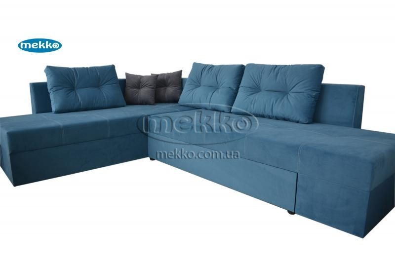 Кутовий диван з поворотним механізмом (Mercury) Меркурій ф-ка Мекко (Ортопедичний) - 3000*2150мм  Кременчук-11