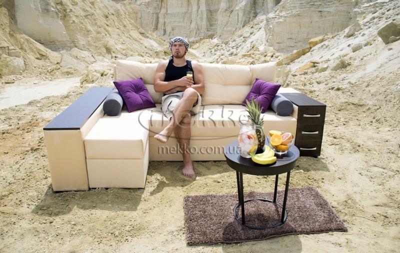 Ортопедичний кутовий диван Cube Shuttle NOVO (Куб Шатл Ново) ф-ка Мекко (2,65*1,65м)  Кременчук-6