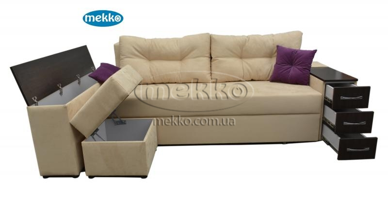 Ортопедичний кутовий диван Cube Shuttle NOVO (Куб Шатл Ново) ф-ка Мекко (2,65*1,65м)  Кременчук-13