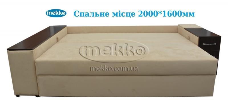 Ортопедичний кутовий диван Cube Shuttle NOVO (Куб Шатл Ново) ф-ка Мекко (2,65*1,65м)  Кременчук-16