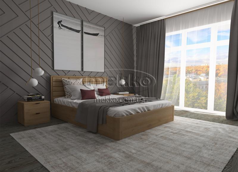 Ліжко Лауро з Підйомником (масив бука /масив дуба) T.Q.Project  Кременчук