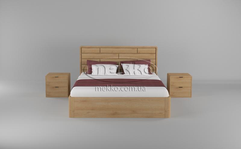 Ліжко Лауро з Підйомником (масив бука /масив дуба) T.Q.Project  Кременчук-4