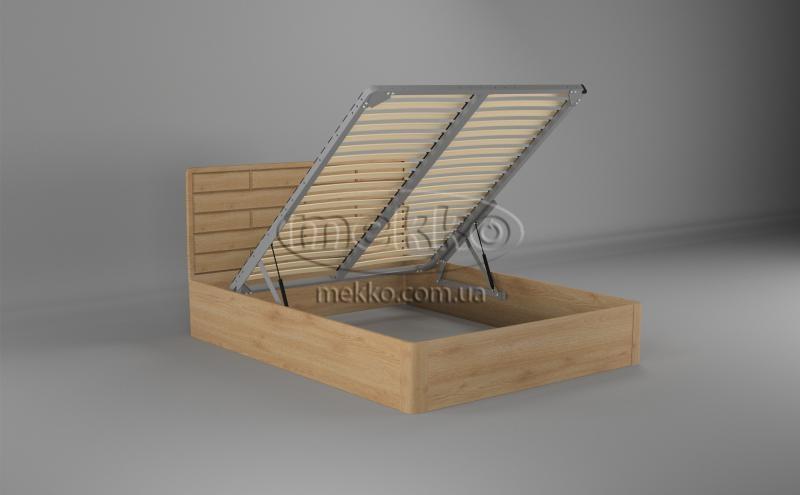 Ліжко Лауро з Підйомником (масив бука /масив дуба) T.Q.Project  Кременчук-2