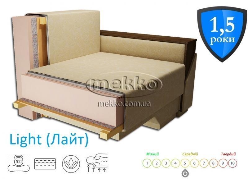 Кутовий диван з поворотним механізмом (Mercury) Меркурій ф-ка Мекко (Ортопедичний) - 3000*2150мм  Кременчук-2