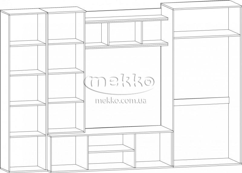 """Стінка """"Конго"""" Мебель-Сервіс  Кременчук-4"""